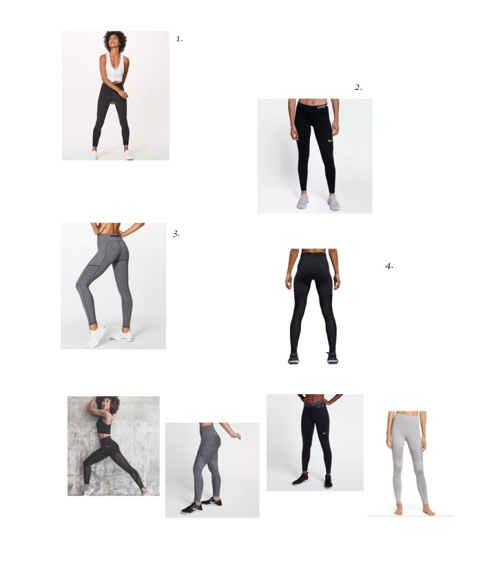 Favorite workout pants – roundup